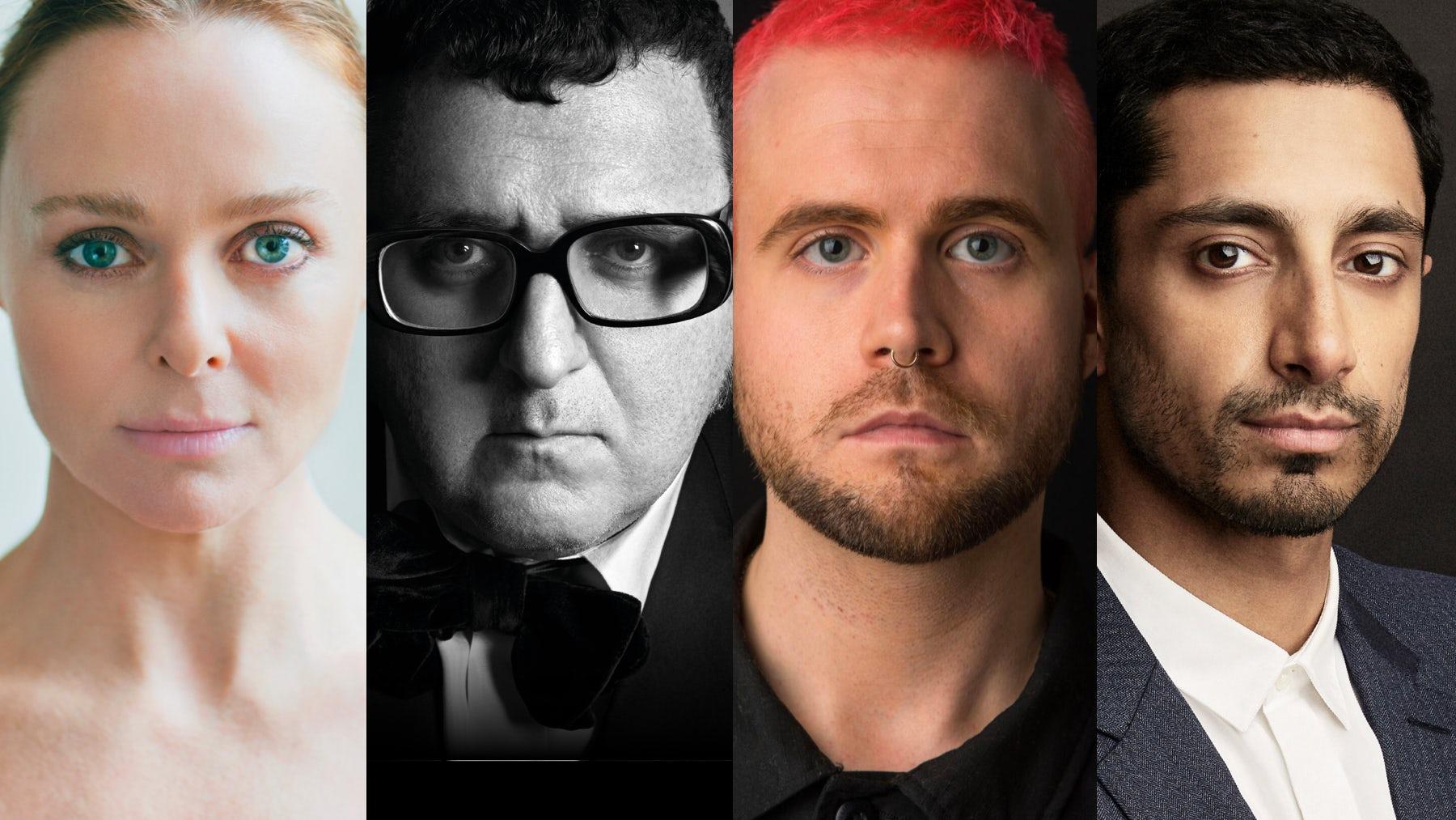 L-R: Stella McCartney, Alber Elbaz, Christopher Wylie and Riz Ahmed | Sources: Courtesy