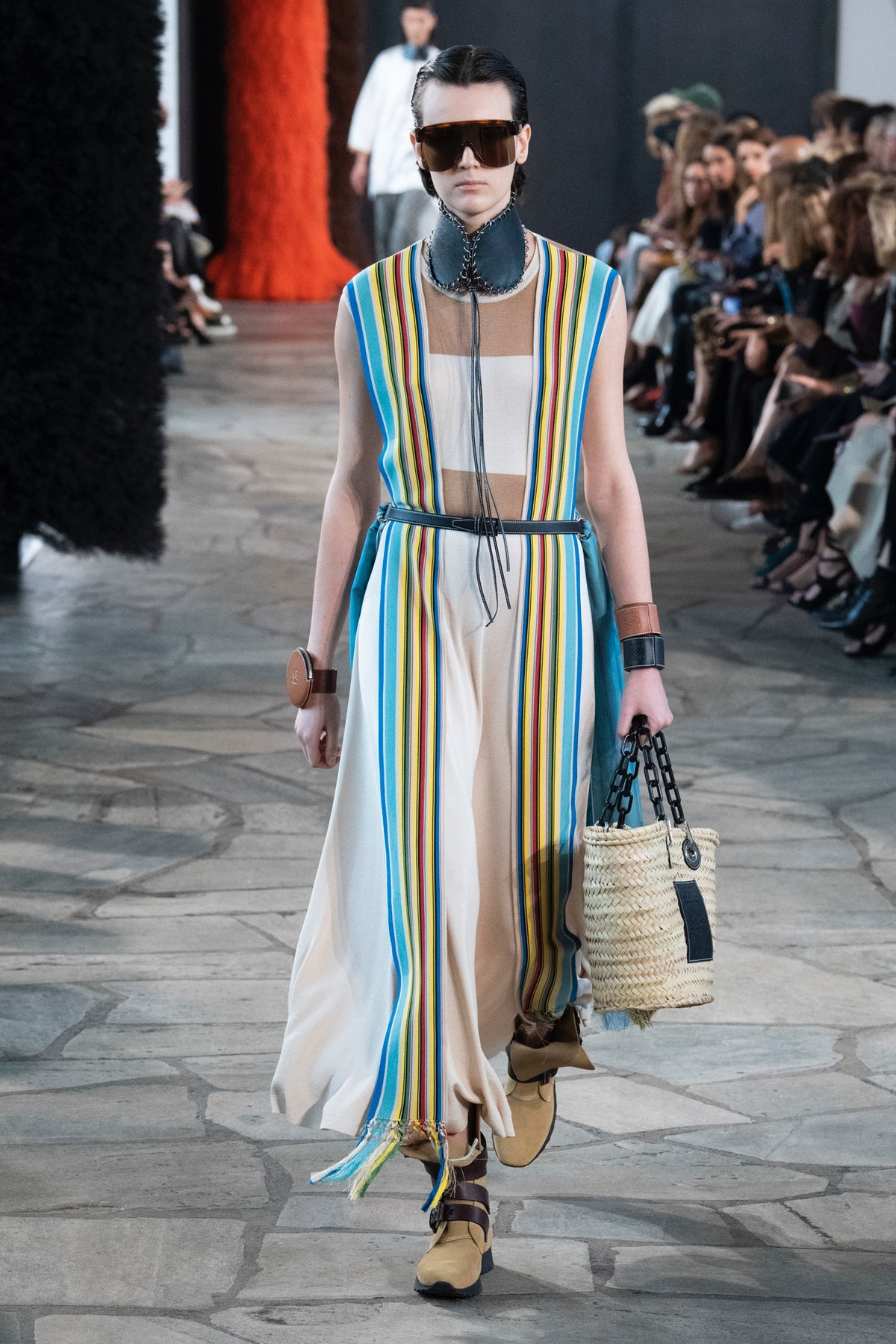Loewe Spring/Summer 2019 | Source: Indigital.tv