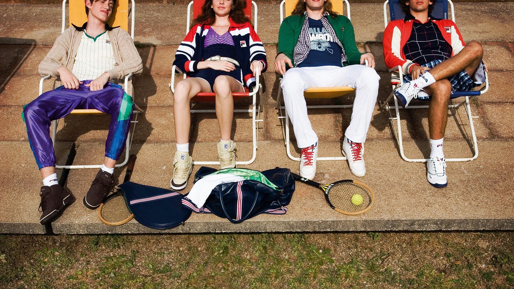 How Sportswear Brand Fila Is Rebooting Itself Intelligens  Intelligence