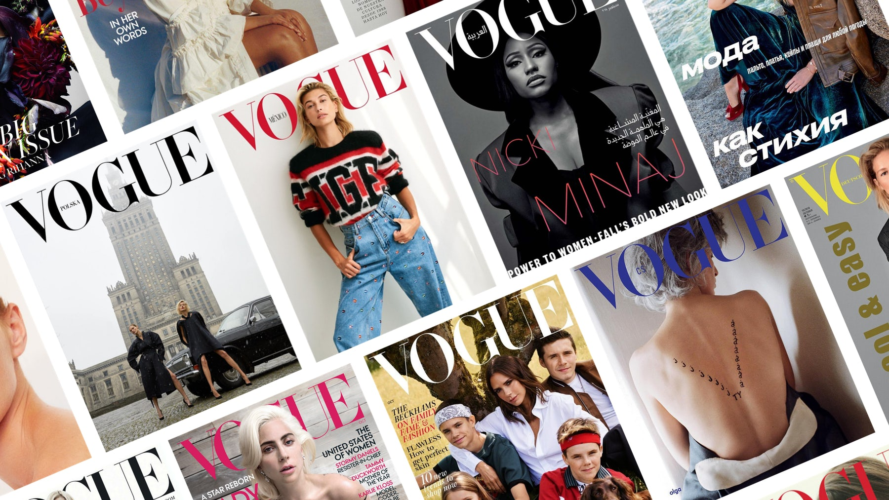 International Vogue covers | Source: Courtesy