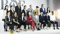 Imran Amed and speakers attend the BoF China Summit during Shanghai Fashion Week | Source: Getty