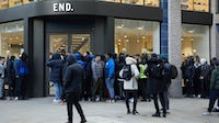 Line outside of End's London flagship | Source: Courtesy