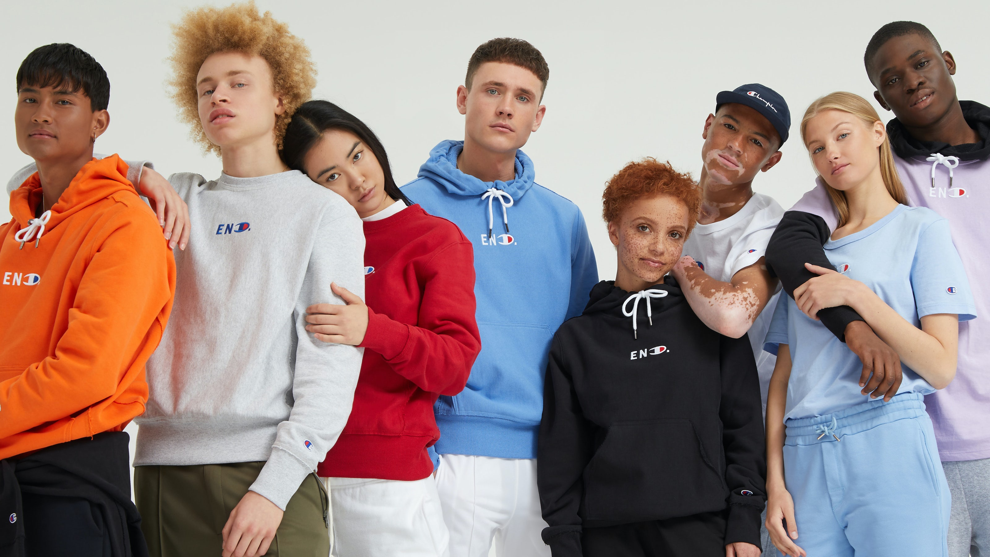 End x Champion S/S 2018 | Source: Courtesy