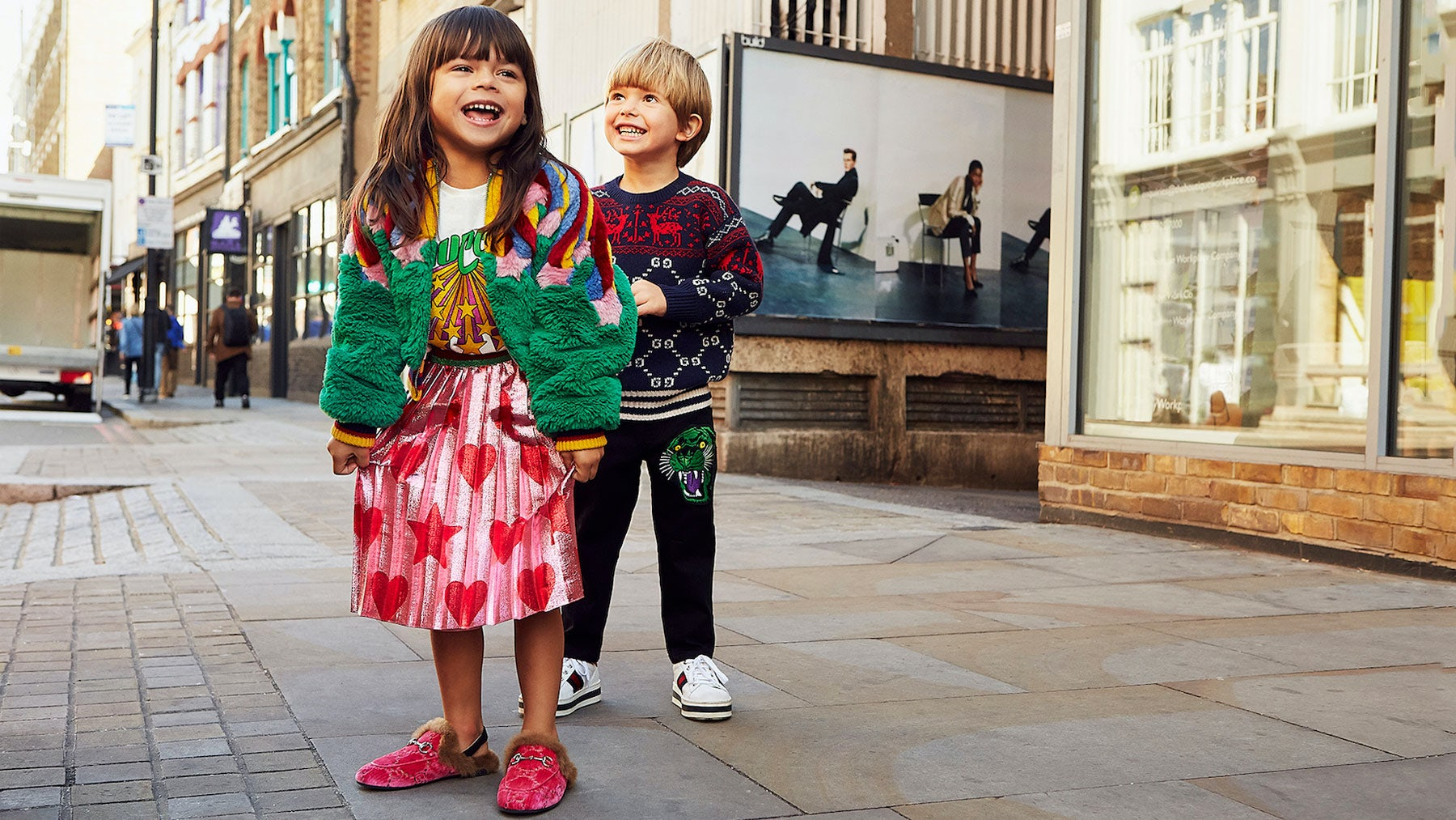 Mytheresa x Gucci Kidswear Capsule | Source: Courtesy