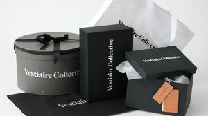 New packaging as part of Vestiaire Collective's rebrand | Source: Courtesy