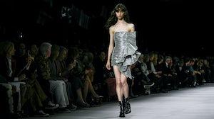Hedi Slimane's debut collection for Celine | Source: InDigital