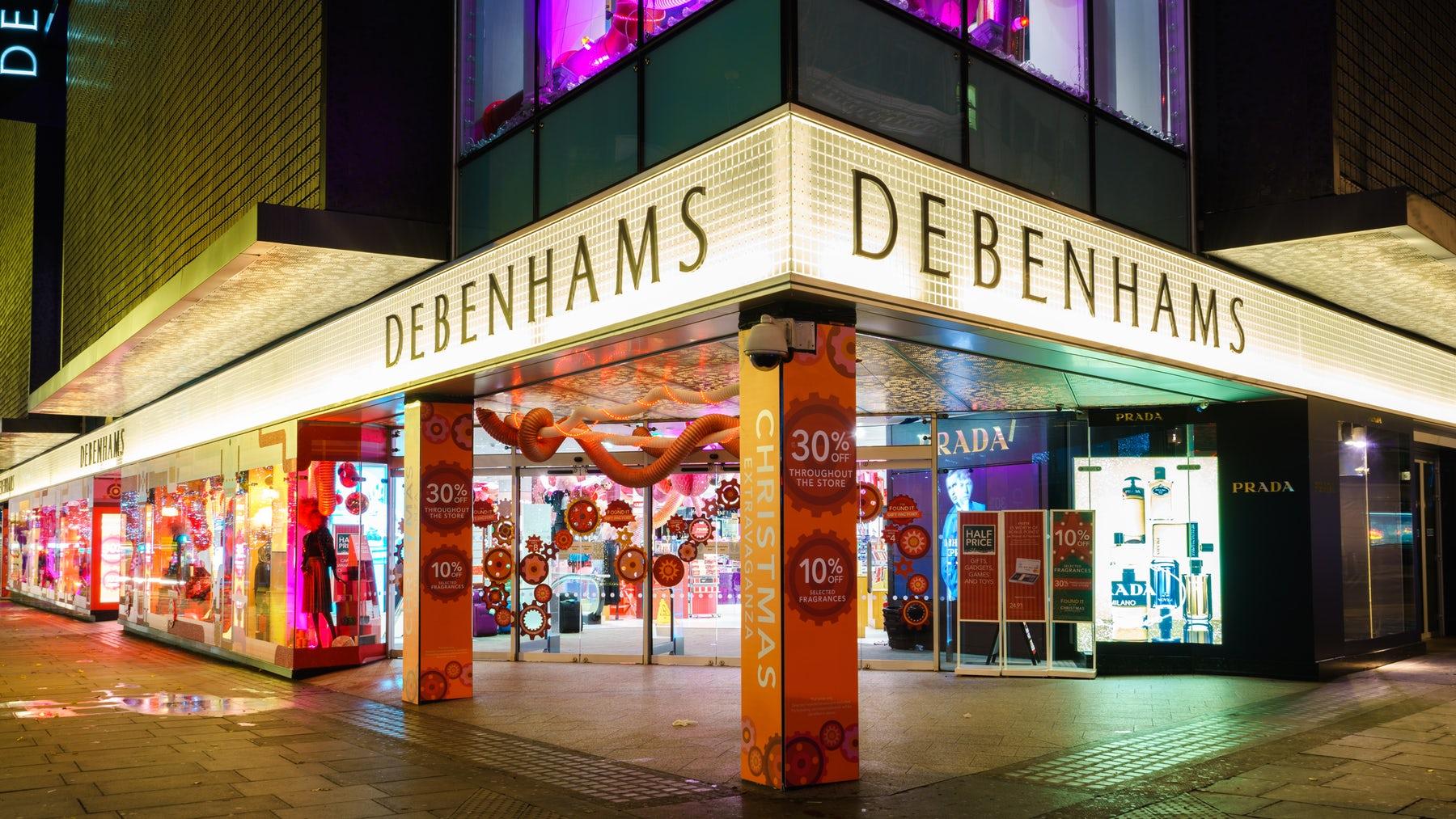 Debenhams store | Source: Shutterstock