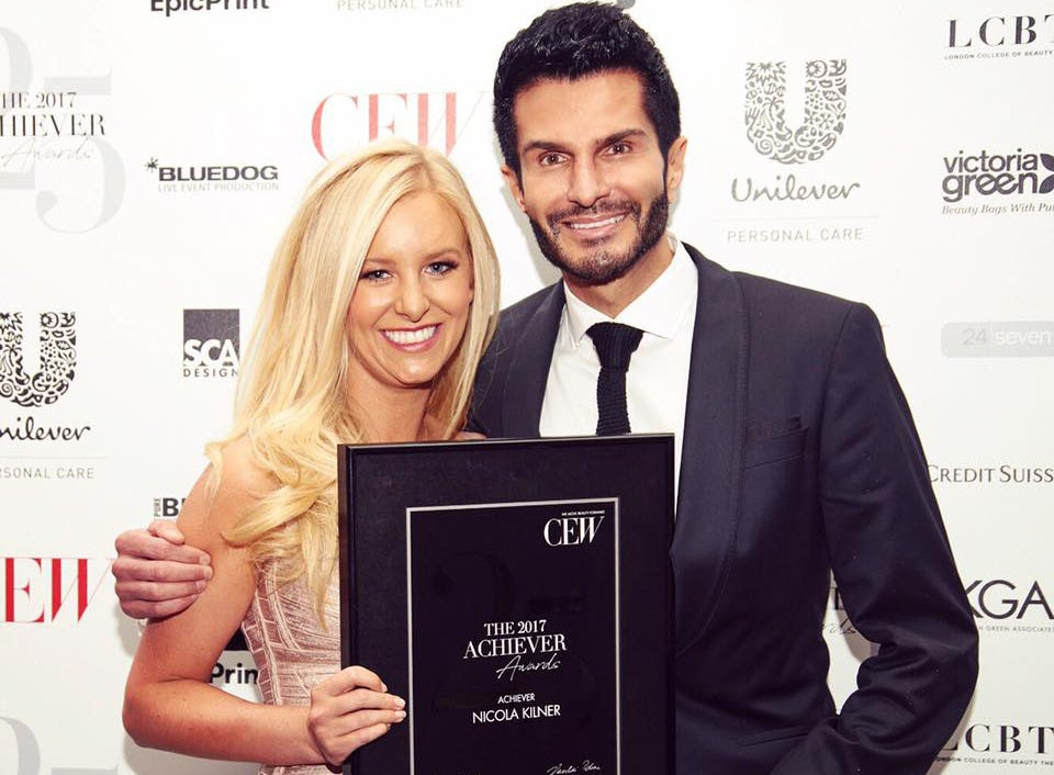 Deciem's co-chief executive Nicola Kilner and Brandon Truaxe | Source: Facebook