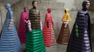 Pierpaolo Piccioli's collection for Moncler | Image: Courtesy