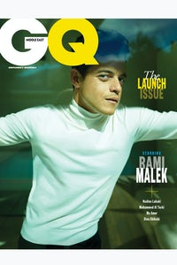 GQ Middle East October issue, starring Rami Malek | Source: Courtesy