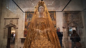 "Inside ""Heavenly Bodies: Fashion and the Catholic Imagination"" at Met museum  