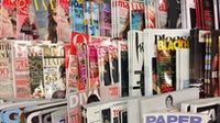 Magazines on a newsstand | Source: Shutterstock