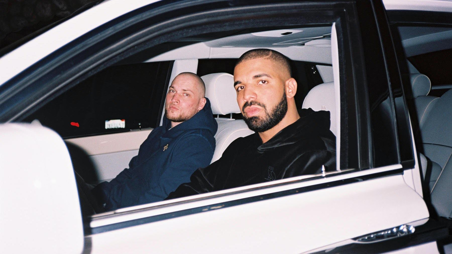 OVO's Oliver El-Khatib and Drake | Source: Jim Joe