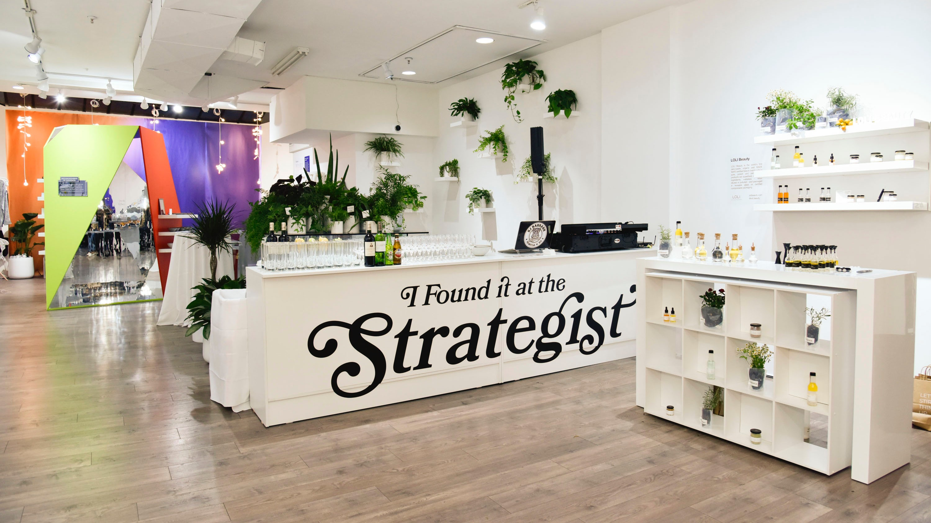 """I Found It At The Strategist"" Pop-Up in New York, a project by Uppercase 
