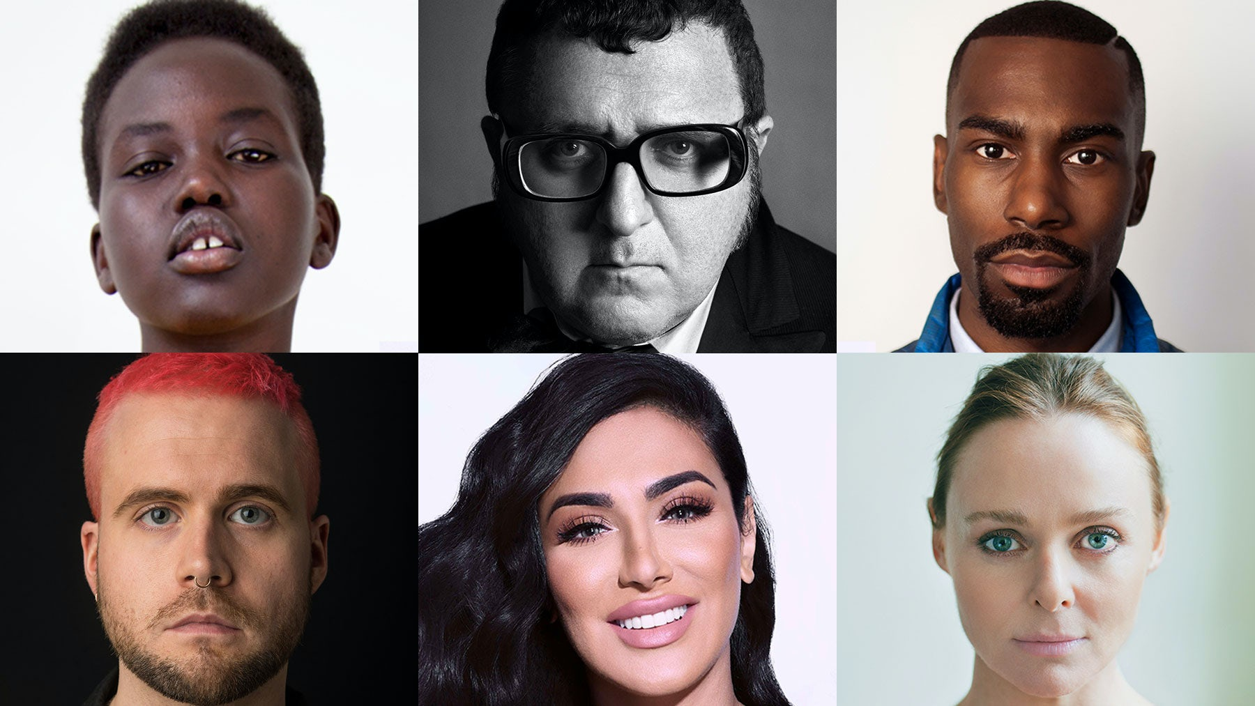 Adut Akech, Alber Elbaz, DeRay Mckesson, Christopher Wylie, Huda Kattan, Stella McCartney | Source: Courtesy