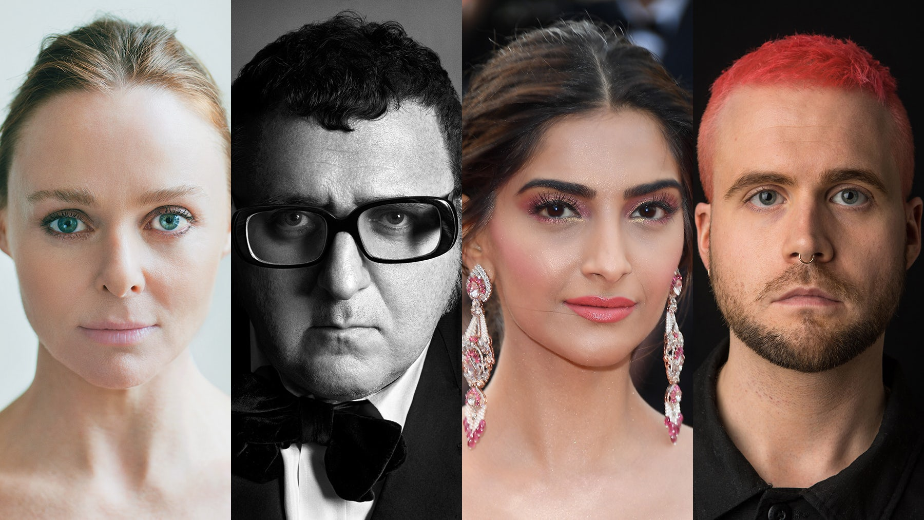 Stella McCartney, Alber Elbaz, Sonam K Ahuja and Christopher Wylie | Source: Courtesy