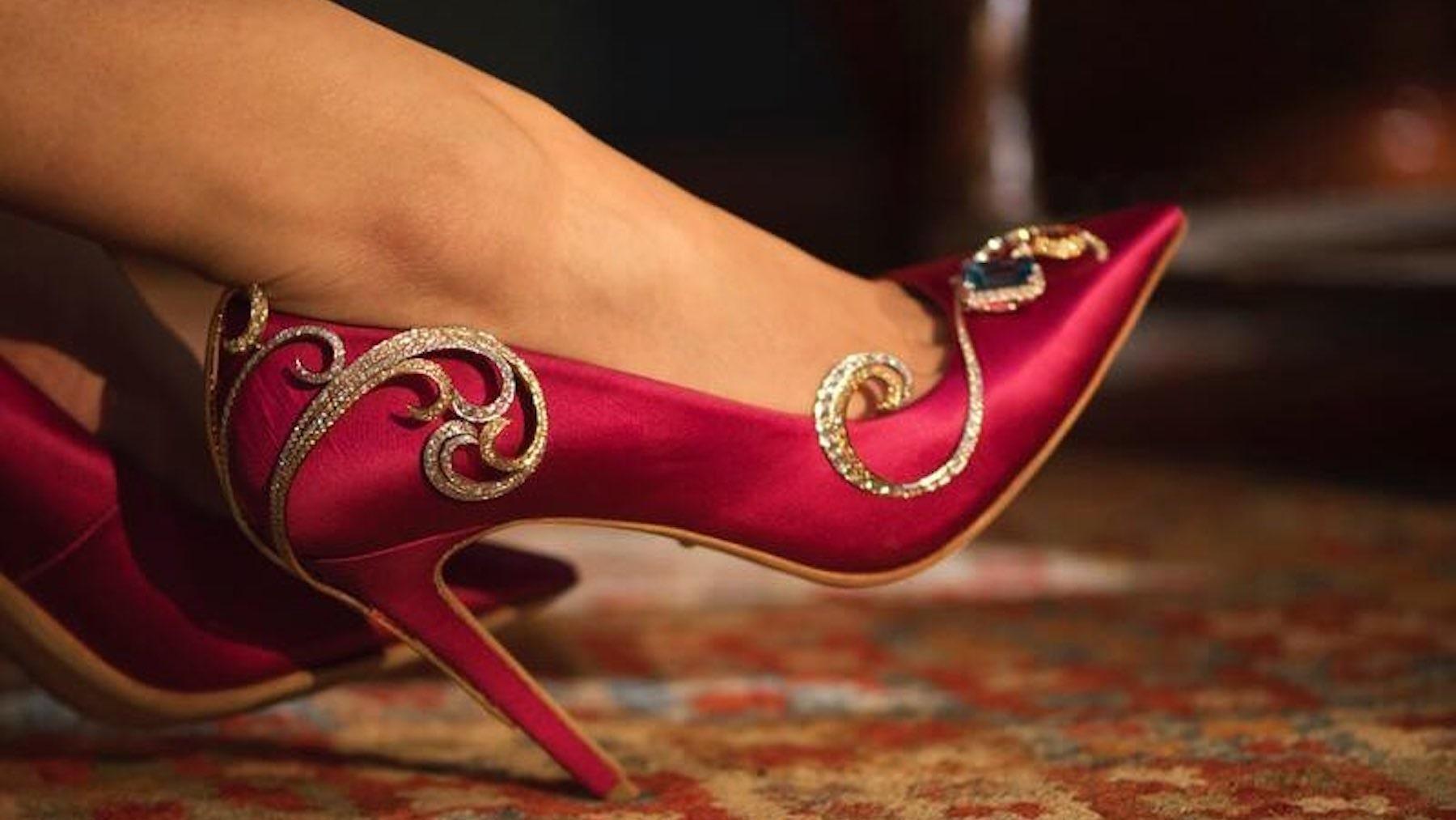Article cover of Jimmy Choo's Gènavant Sells $4.3 Million Diamond-Encrusted High Heels in Shanghai