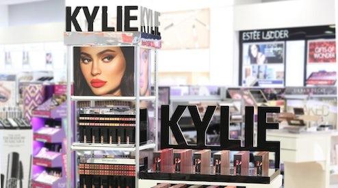 32a35be25d5 A Kylie Cosmetics display inside an Ulta Beauty store | Source: @ultabeauty  via Instagram