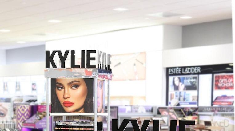 8efada13610 A Kylie Cosmetics display inside an Ulta Beauty store | Source: Instagram/@ ultabeauty