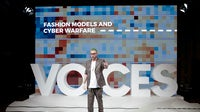 Christopher Wylie speaks on stage during #BoFVOICES | Source: Getty Images for The Business of Fashion