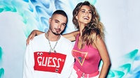Guess Spring 2019 campaign featuring J Balvin and Kara Del Toro | Source: Courtesy