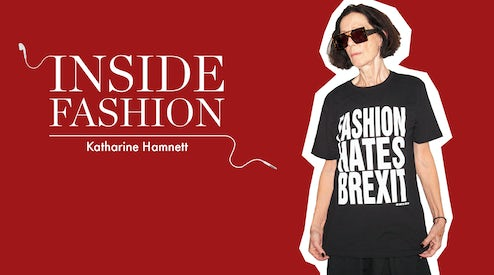 e60e52822c The BoF Podcast: Katharine Hamnett on Protest, Slogan Tees and ...