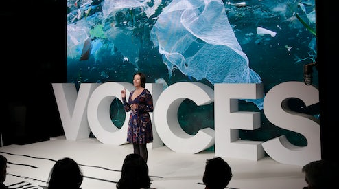 Fashion S Role In Solving Plastic Pollution Rachel Lincoln Sarnoff Video News Analysis Voices Inside The Fashion System Bof