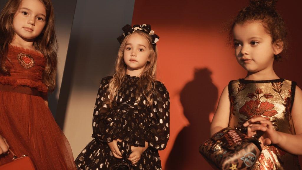 Dolce & Gabbana kids pop-up for Net-a-Porter