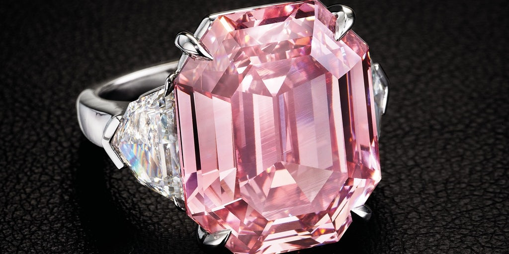Pink Diamond Sets Record As Harry Winston Wins Gem At
