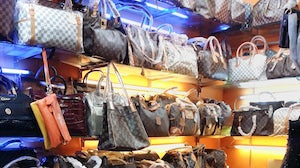 Counterfeit Louis Vuitton bags | Source: Shutterstock
