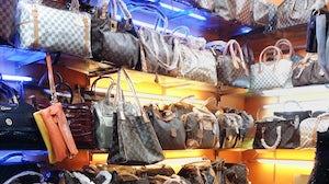 Counterfeit Louis Vuitton bags | Source: Shutterstock