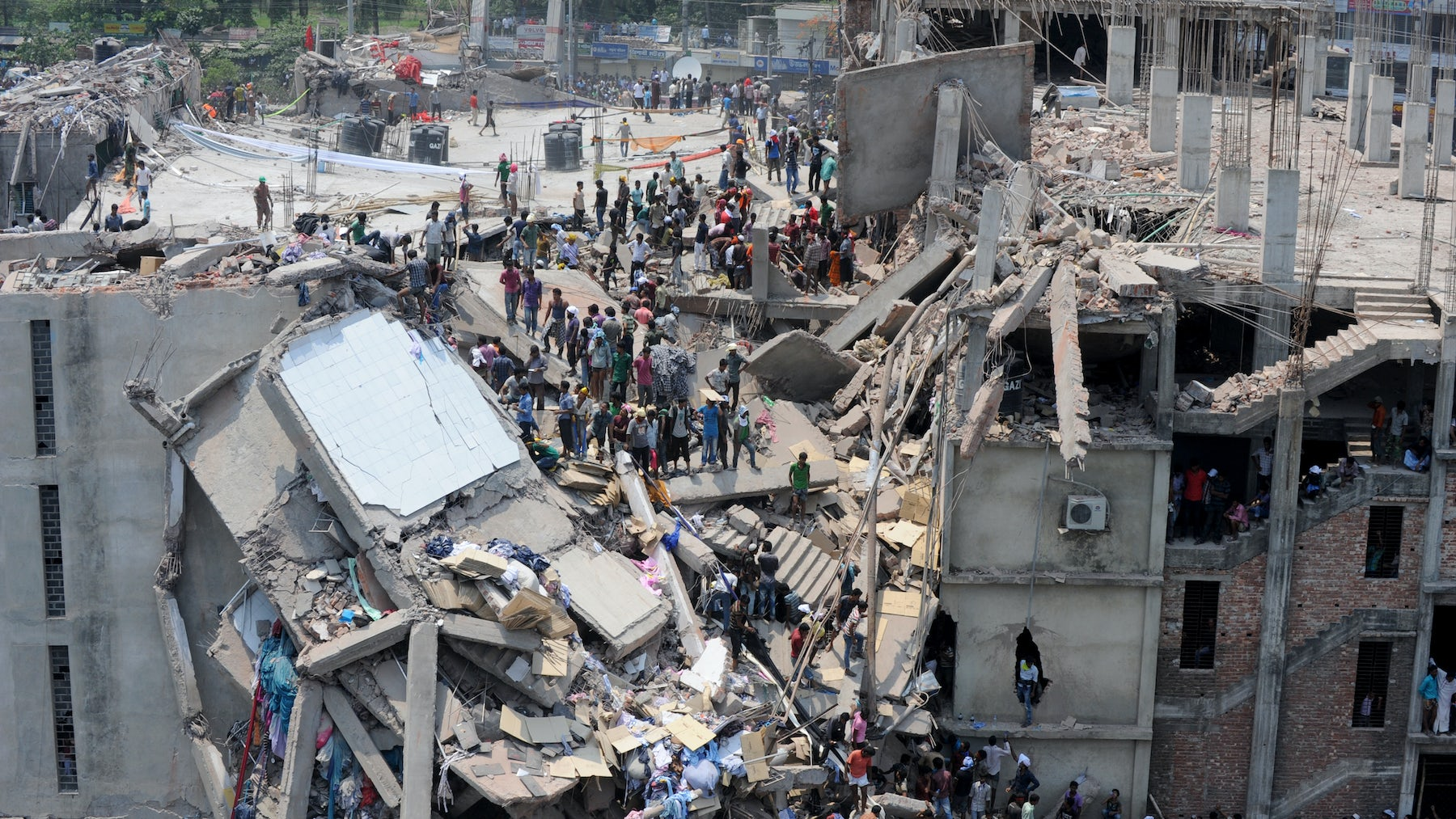 Rana Plaza collapse in 2013 | Source: Shutterstock