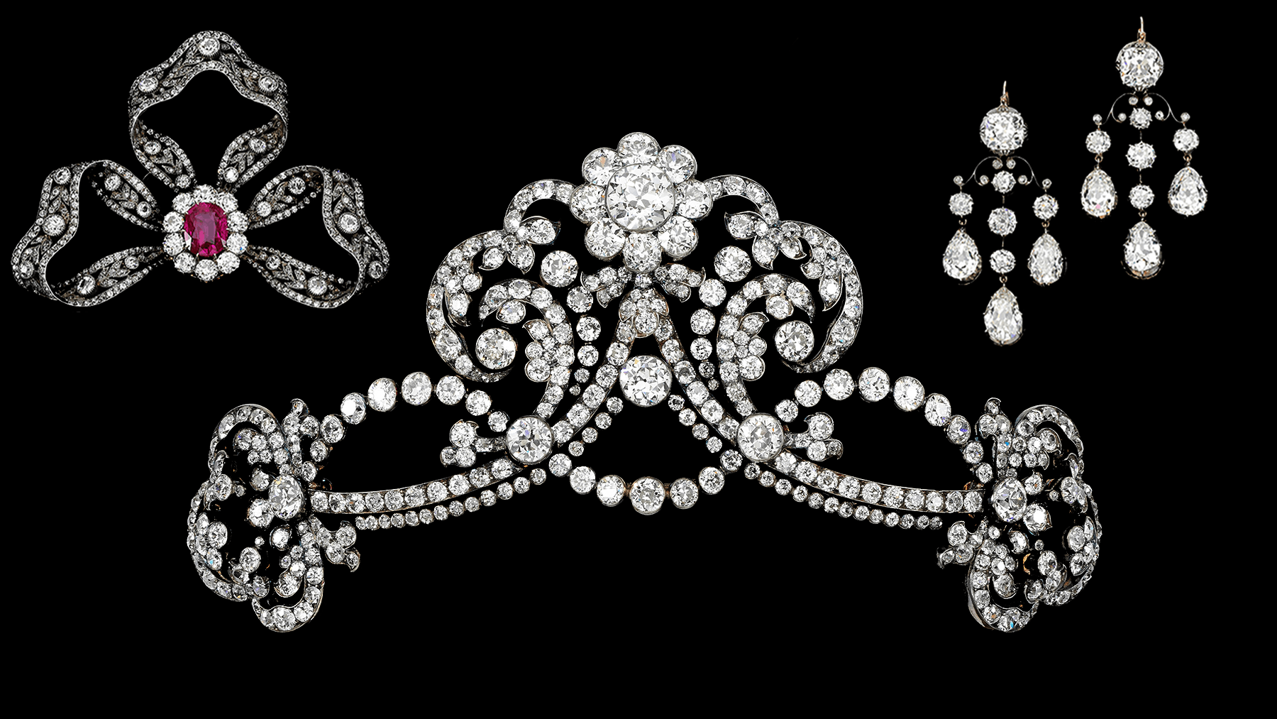 Jewels from the Bourbon Parma family collection | Source: Sotheby's