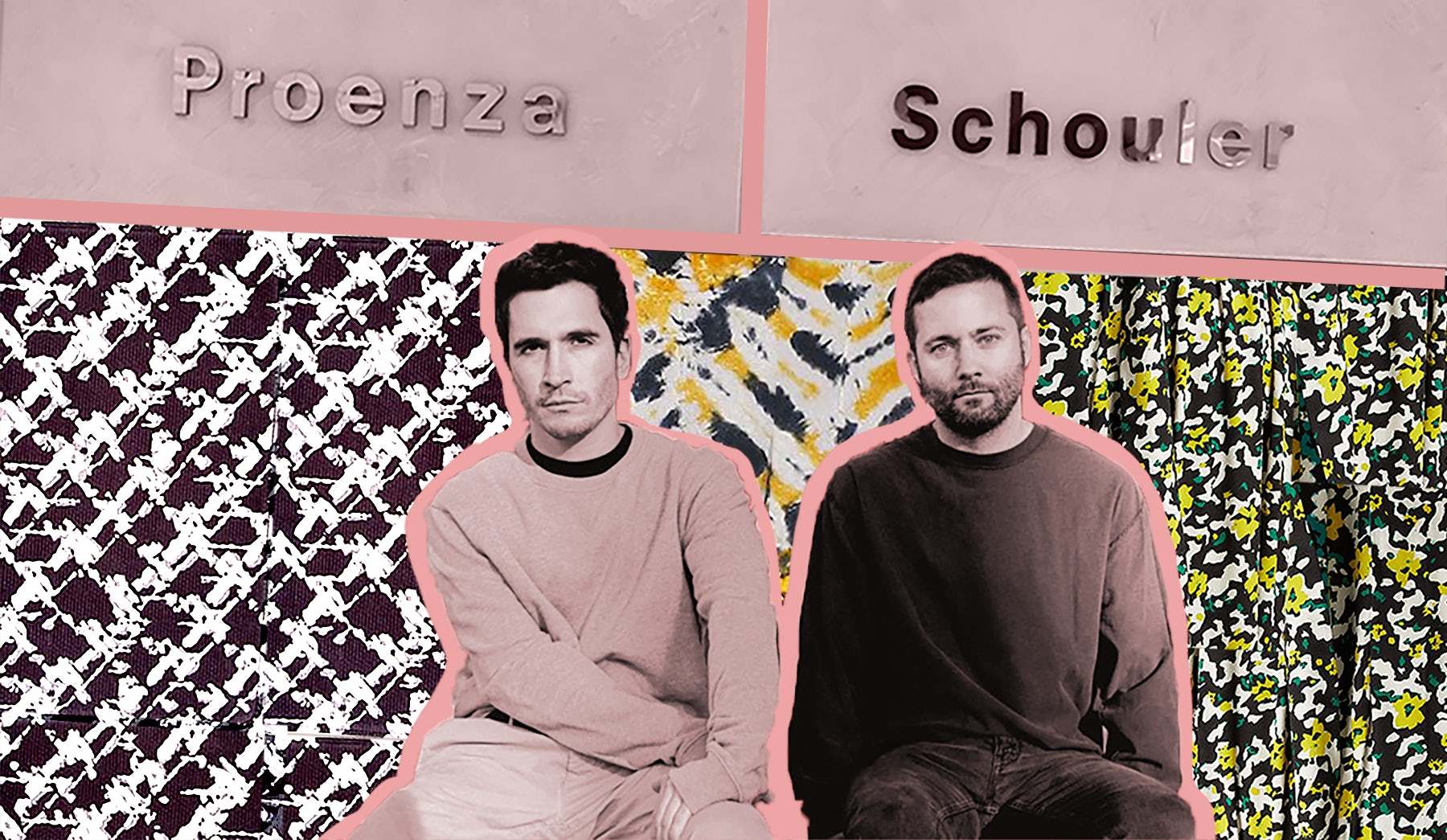 Jack McCollough & Lazaro Hernandez | Illustration by Rachel Deeley for BoF