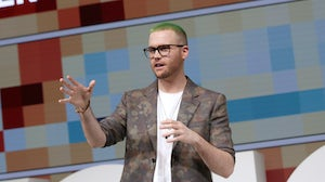 Christopher Wylie speaks on stage during #BoFVOICES   Source: Getty Images for The Business of Fashion