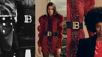 Balmain Pre-Fall 2019 campaign | Source: Courtesy