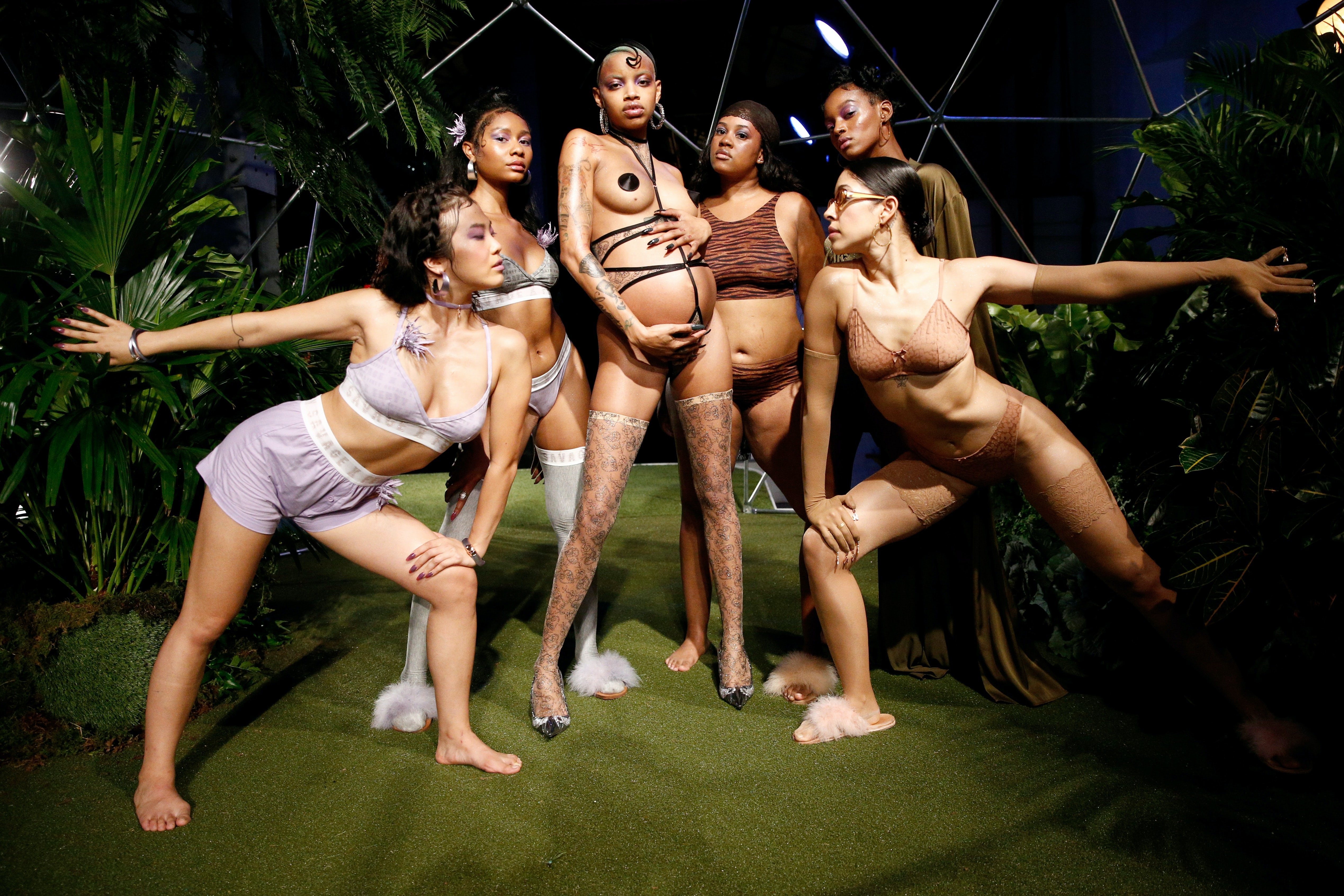 The Savage X Fenty runway show in September was lauded for its model diversity   Source: Brian Ach/Getty Images