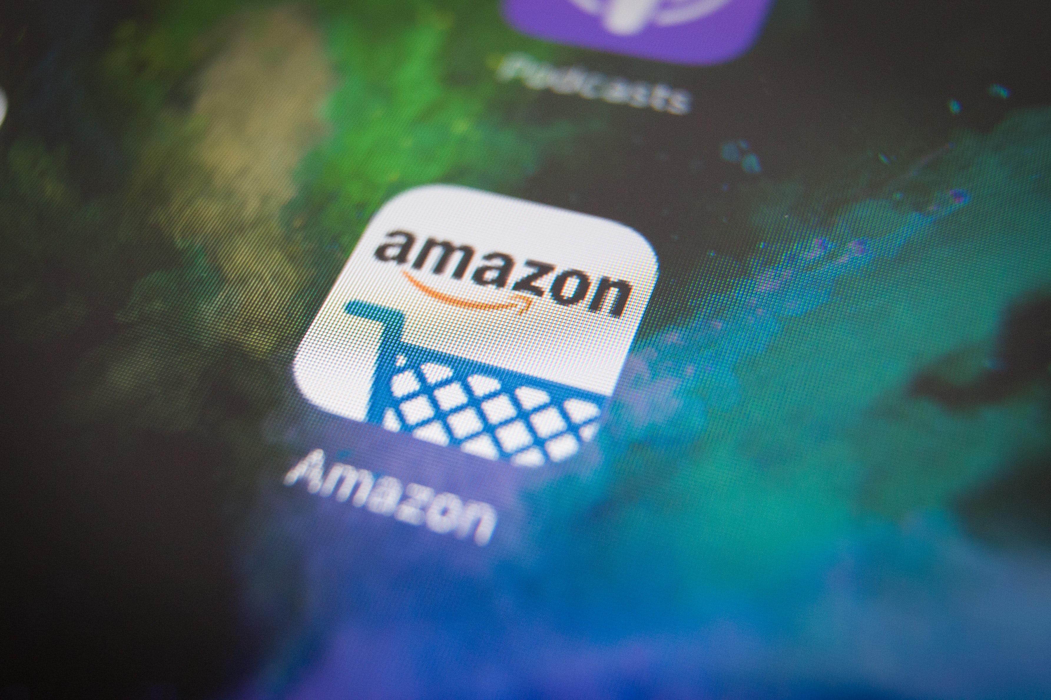 Amazon app | Photo: Jaap Arriens/NurPhoto via Getty Images