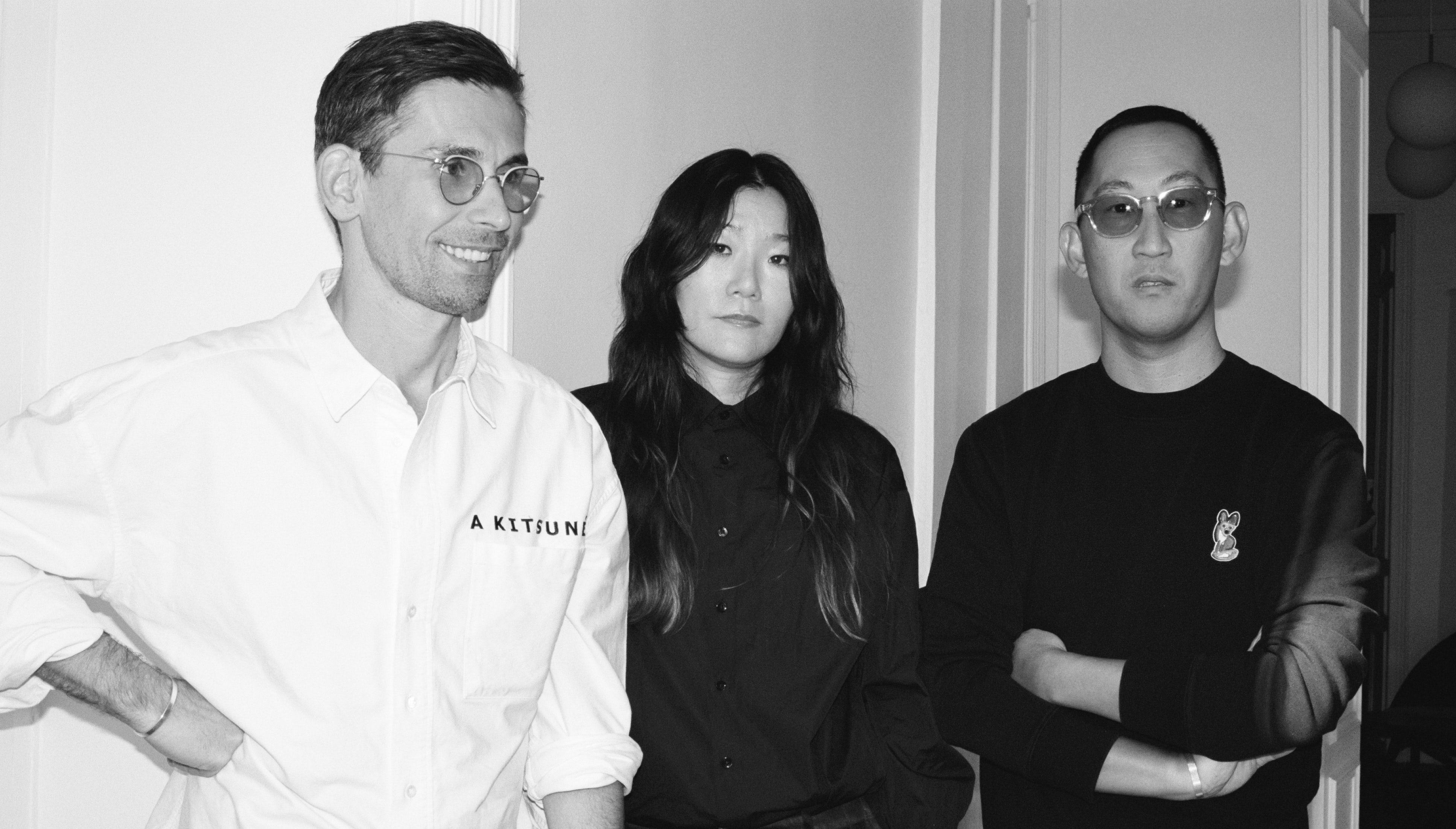 Left to right: Gildas Loaëc, Yuni Ahn, Masaya Kuroki | Photo: Kevin Buitrago