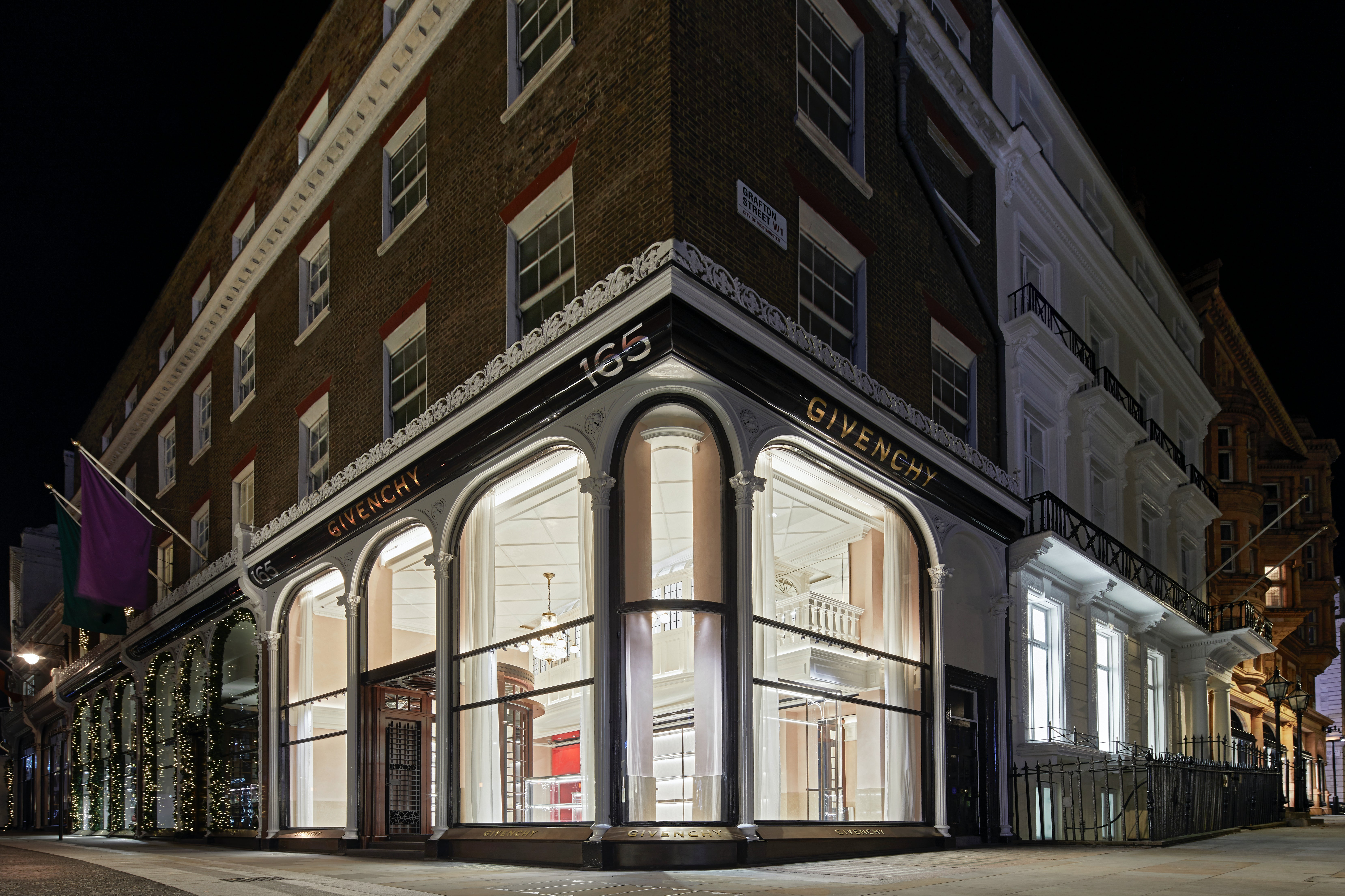 Givenchy's new flagship in Mayfair, London | Photo: Courtesy