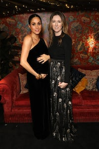 HRH Duchess of Sussex Meghan Markle and Givenchy's Clare Waight-Keller | Photo: Getty Images