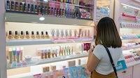 Cosmetics aisle in Seoul | Source: Shutterstock