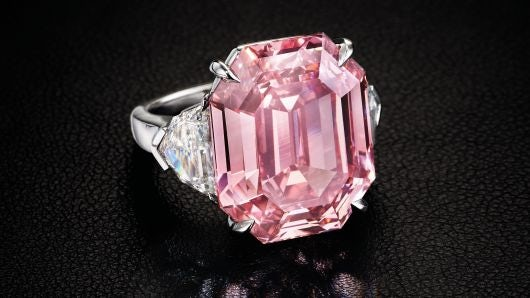 Pink Legacy Diamond | Source: Christie's