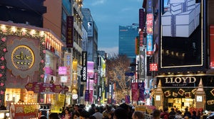 Myeongdong shopping street in Seoul, South Korea | Source: Shutterstock