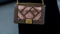 A Chanel python handbag | Source: Getty Images