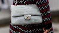 Crocodile Chanel bag   Source: Getty Images