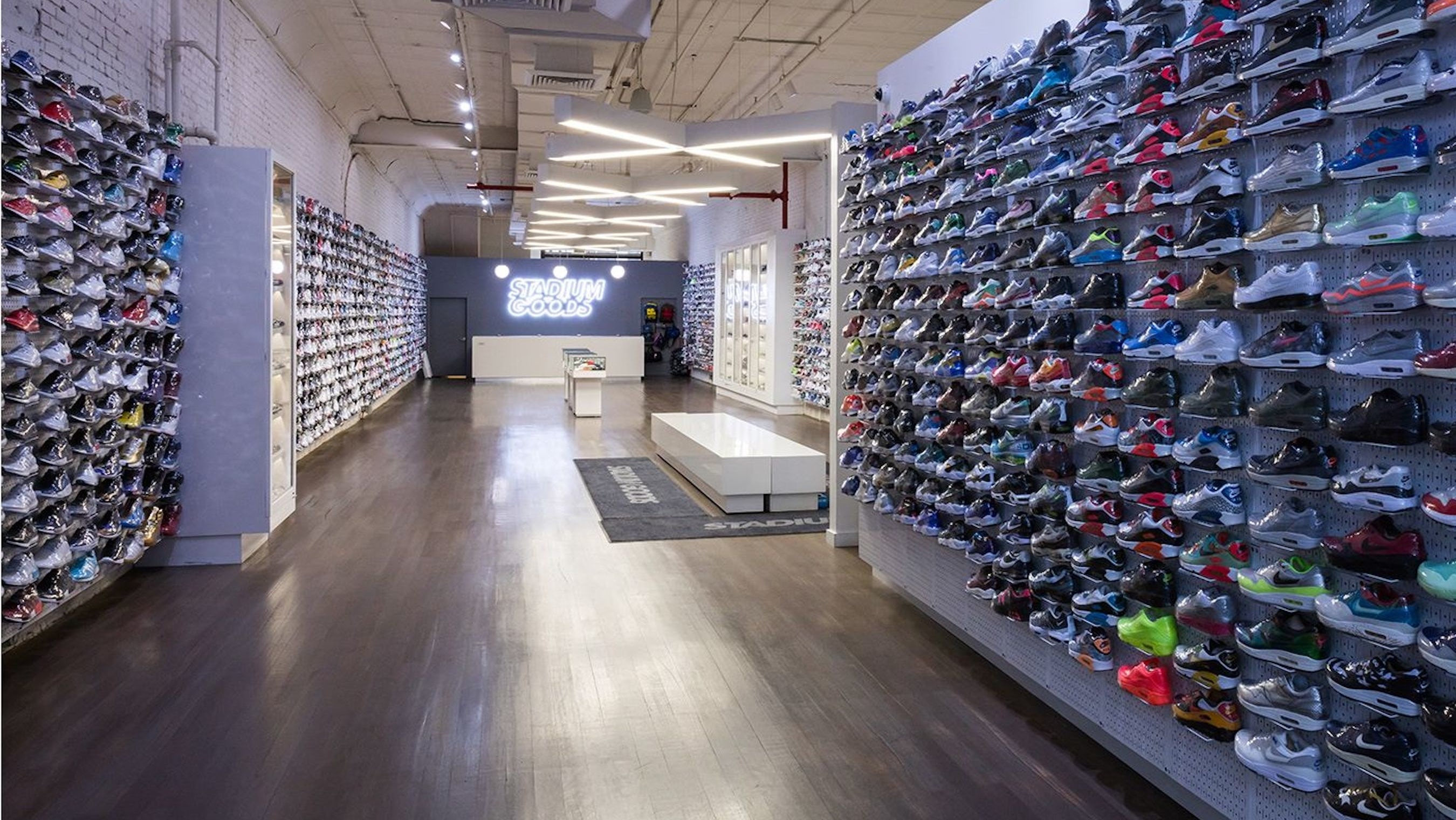 Stadium Goods store on Howard Street, New York | Source: Stadium Goods
