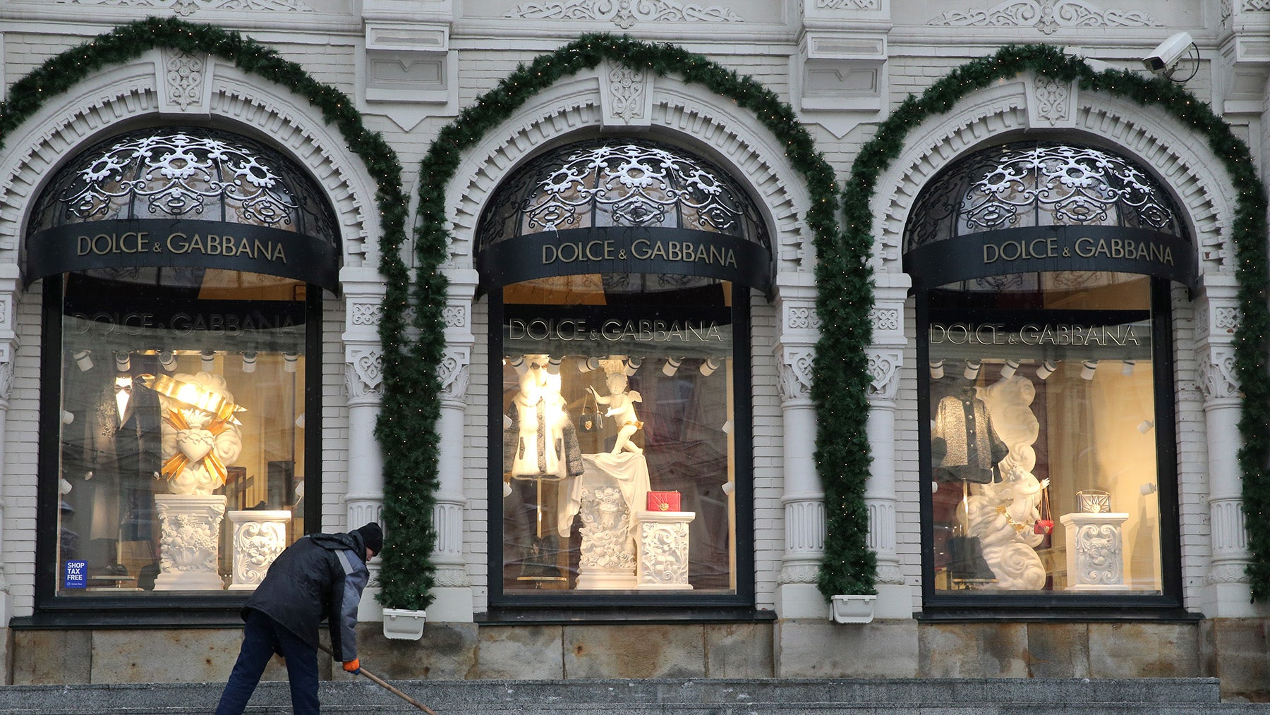Dolce & Gabbana store | Source: Getty