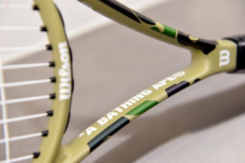 Wilson x Bape Tennis Racket