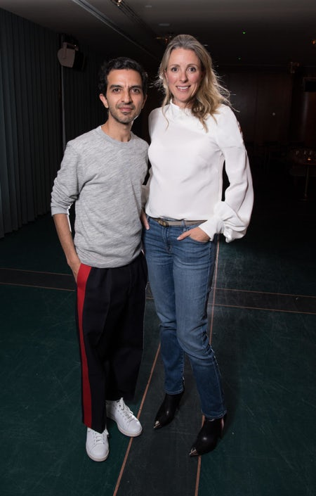 Imran Amed and Stephanie Phair at BoF Careers Event: Nurturing Fashion's Future Female Leaders